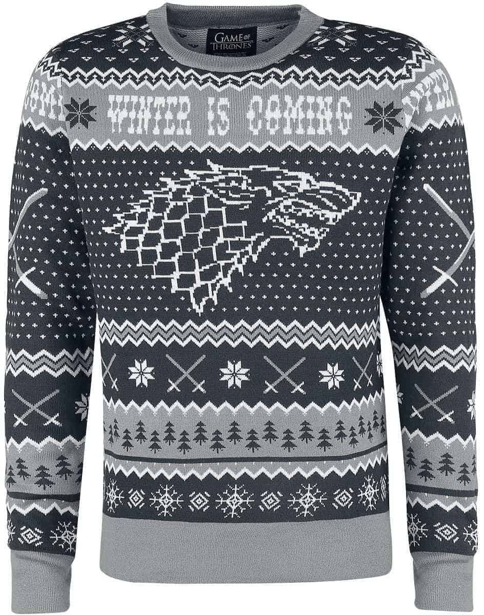 game of thrones winter is coming pullover gr. Black Bedroom Furniture Sets. Home Design Ideas